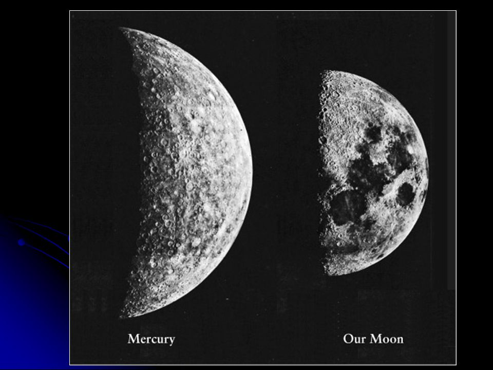 Mercury's Impact History Huge impact craters as well as thousands of smaller ones…