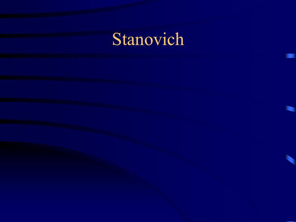 Stanovich