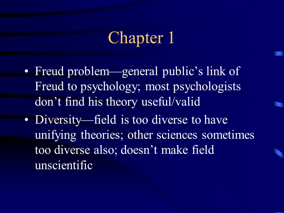 Chapter 1 Pop psychology—often not based on scientific evidence; goal is to make money, not find truth Common sense—public tends to think psychology is just common sense; little appreciation for how wrong common sense often is