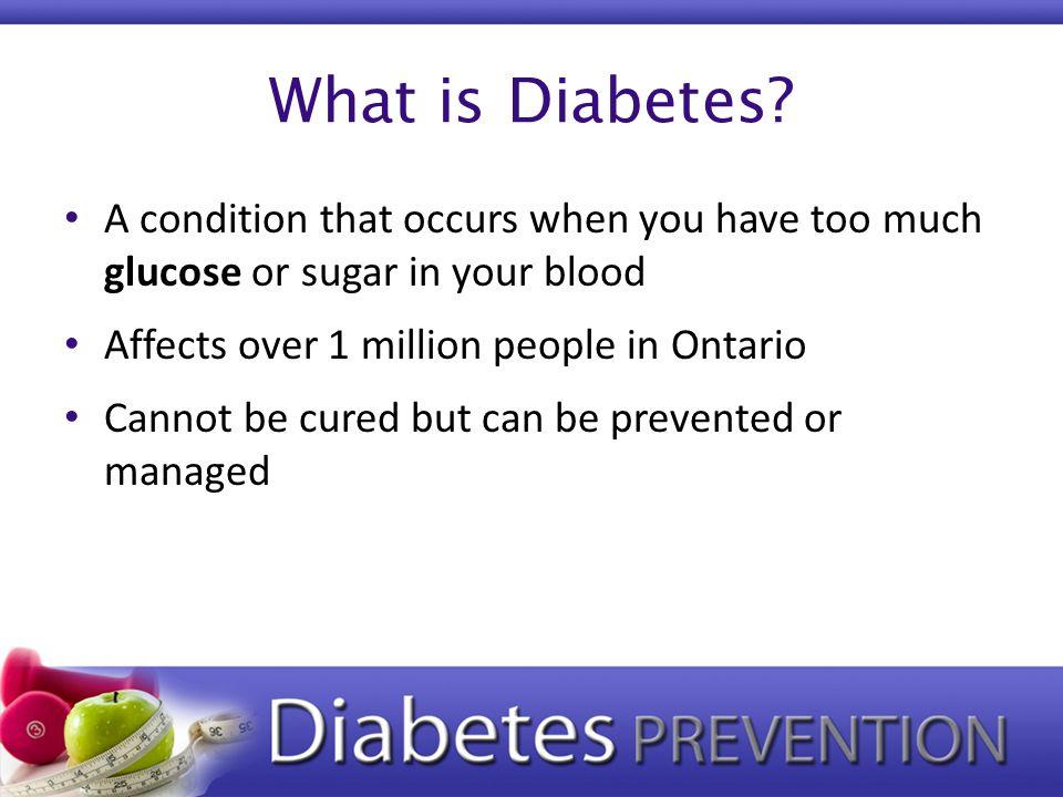 What is Diabetes.