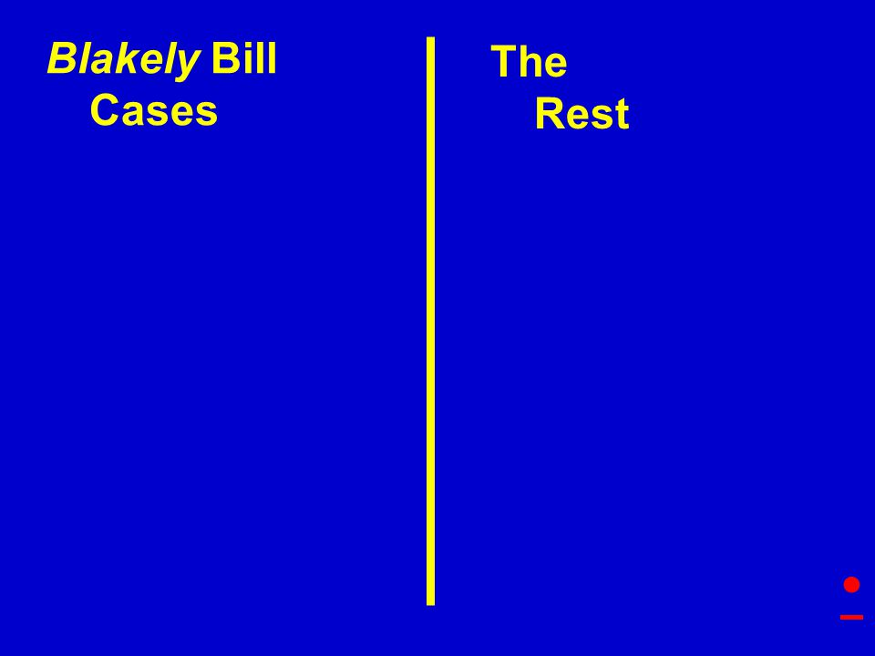 The Rest Blakely Bill Cases