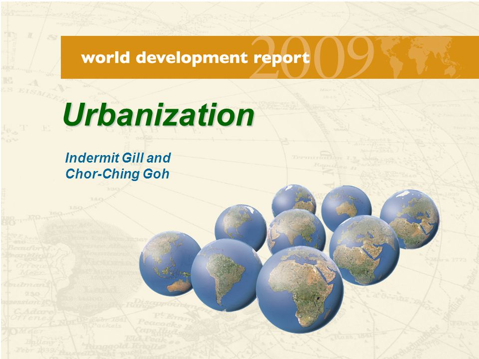 52 Conclusion Recognize that urbanization is necessary.