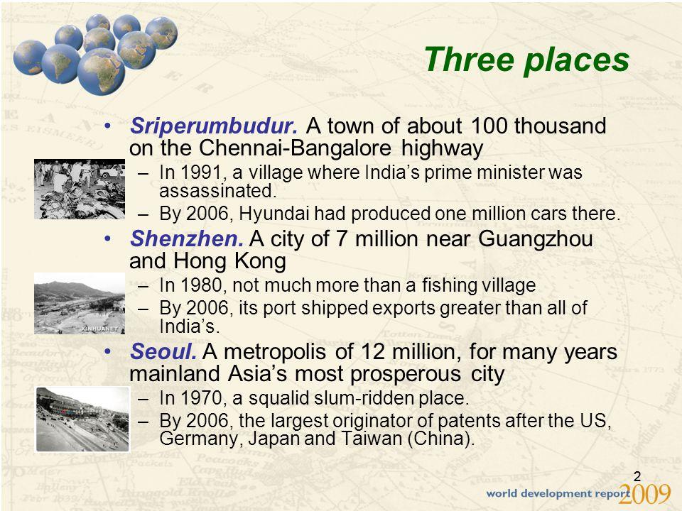 22 Three places Sriperumbudur.