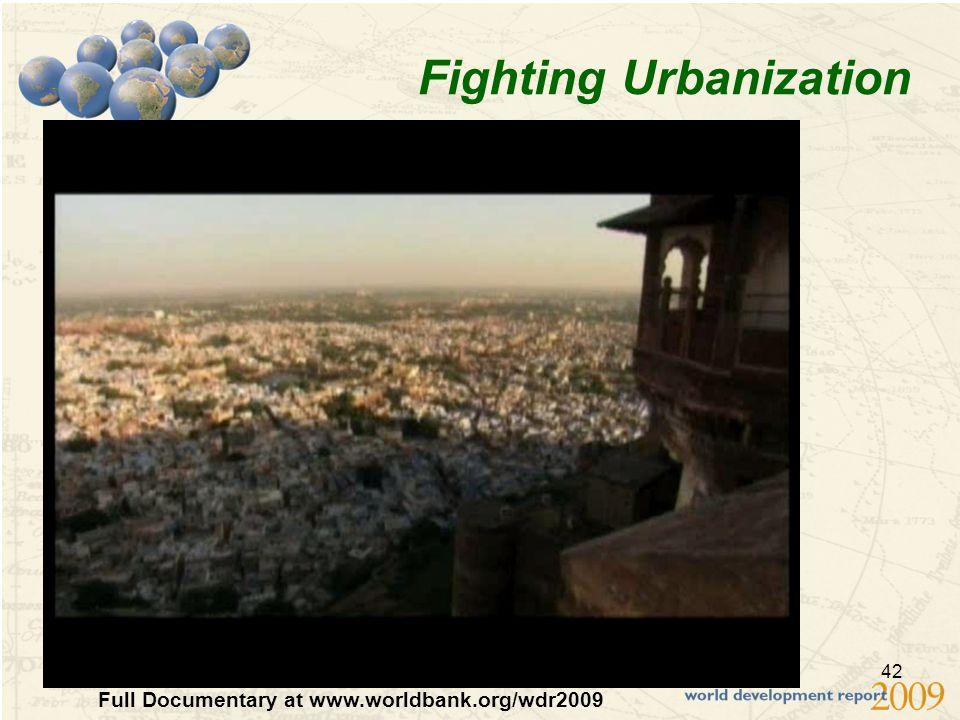 42 Fighting Urbanization Clip: Mumbai's Slums Full Documentary at www.worldbank.org/wdr2009