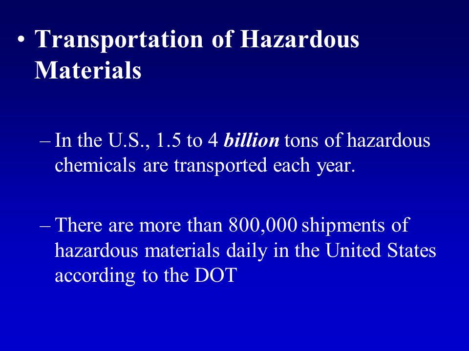 Birmingham News (Alabama) Alabama has about 200 transportation accidents a year involving hazardous materials.