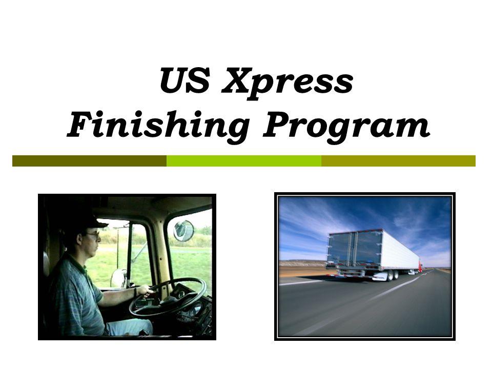 US Xpress Finishing Program