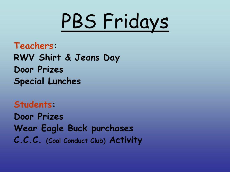 PBS Fridays!