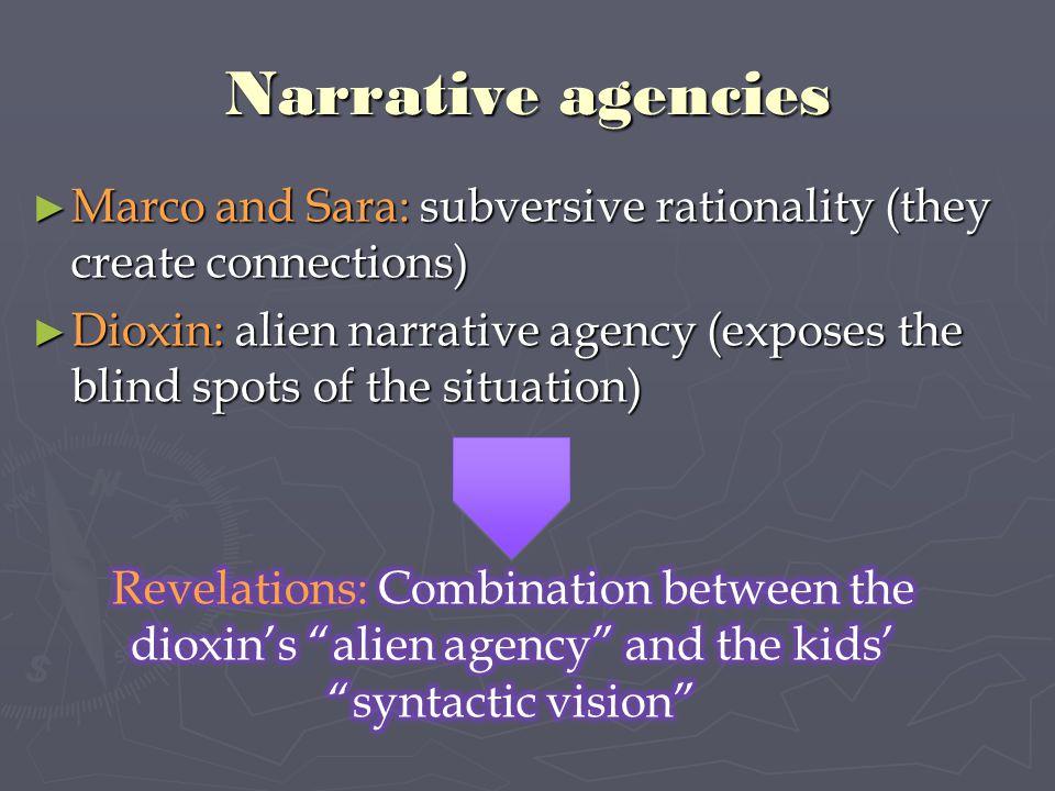 Narrative agencies