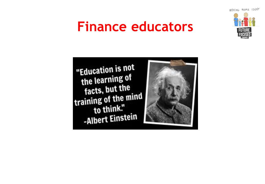 Finance educators