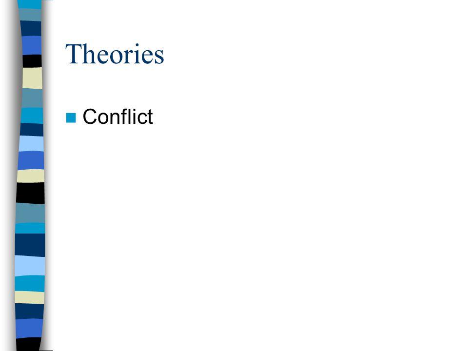 Theories Conflict
