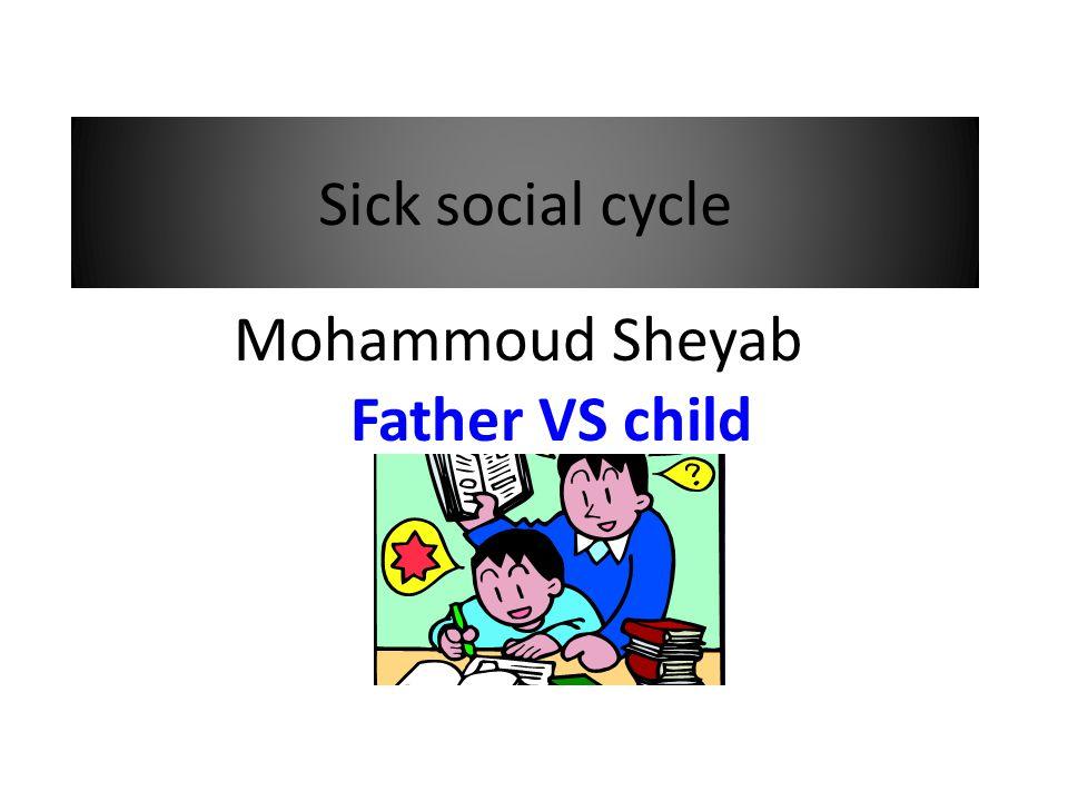 Sick social cycle Father VS child Mohammoud Sheyab