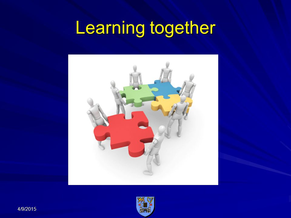 Learning together 4/9/2015