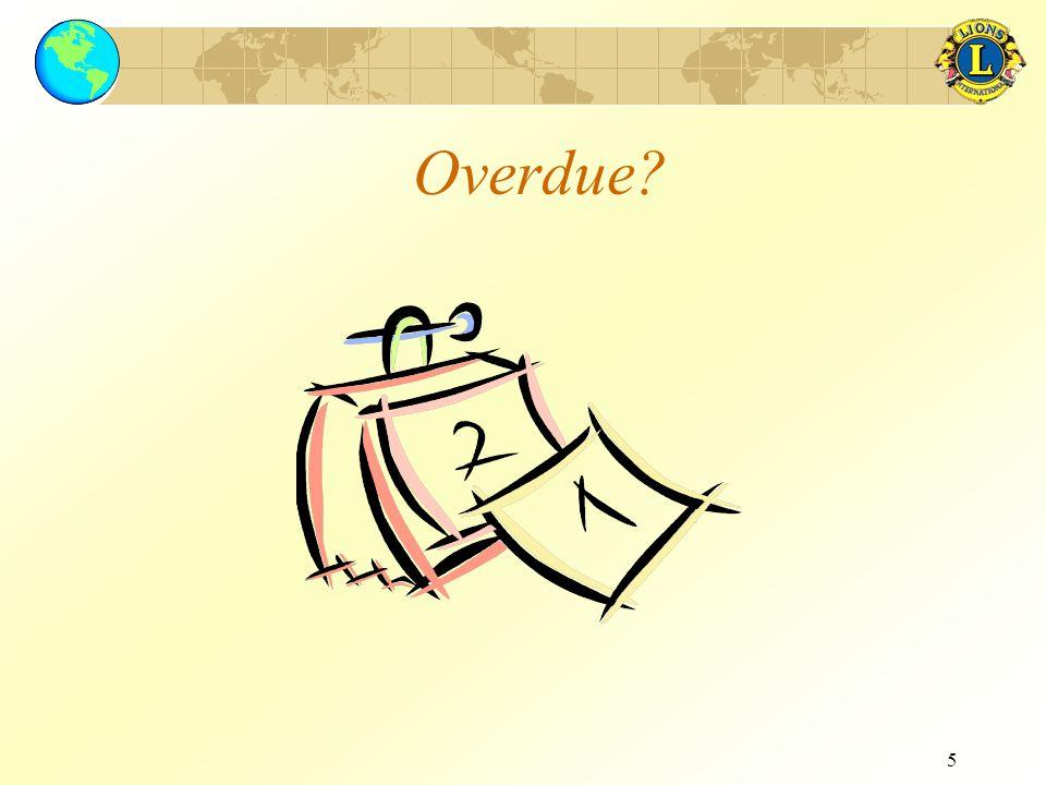 5 Overdue