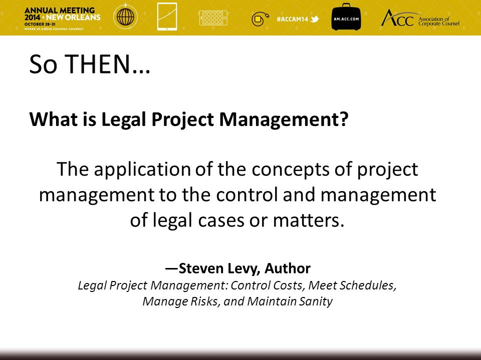 Fact or Myth? Lawyers will not adopt LPM because it's too complex and time consuming
