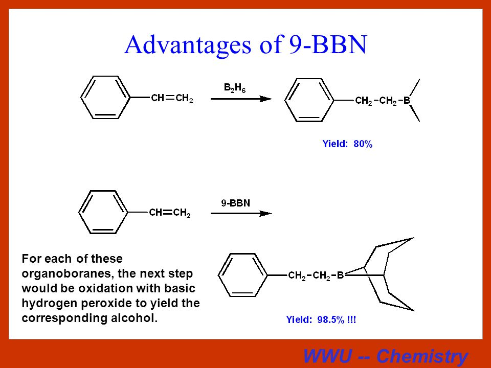 WWU -- Chemistry Preparation of 9-BBN