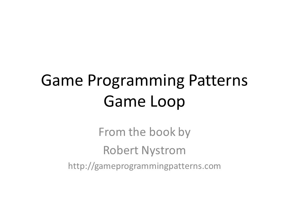 Some additional thoughts.Who owns the game loop – the engine/platform or the game programmer.