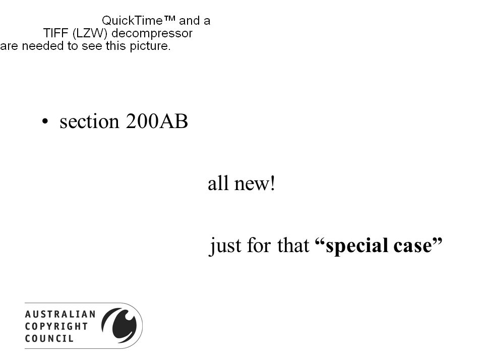 section 200AB all new! just for that special case
