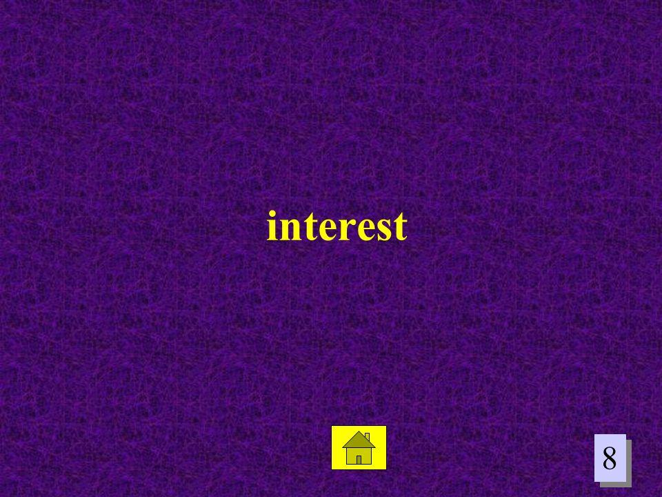 8 8 interest
