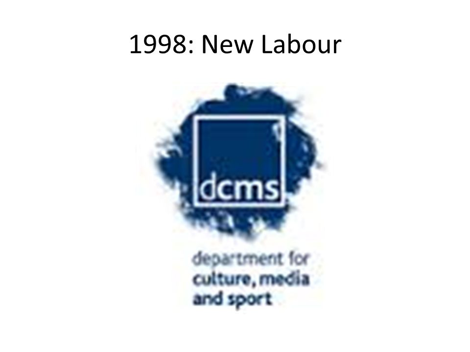 1998: New Labour