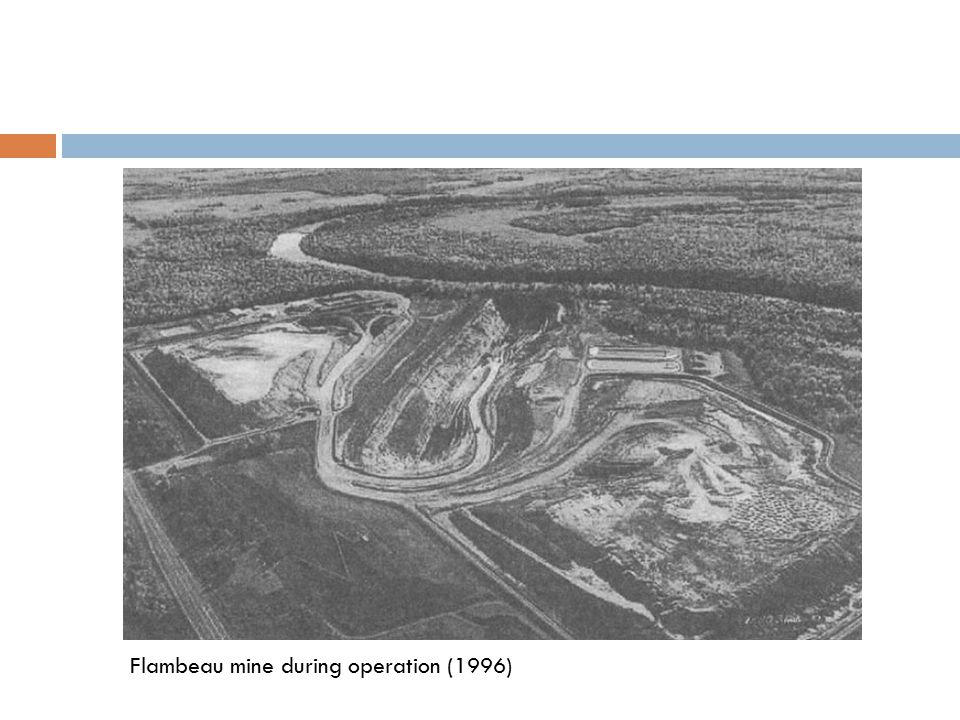 Flambeau mine during operation (1996)