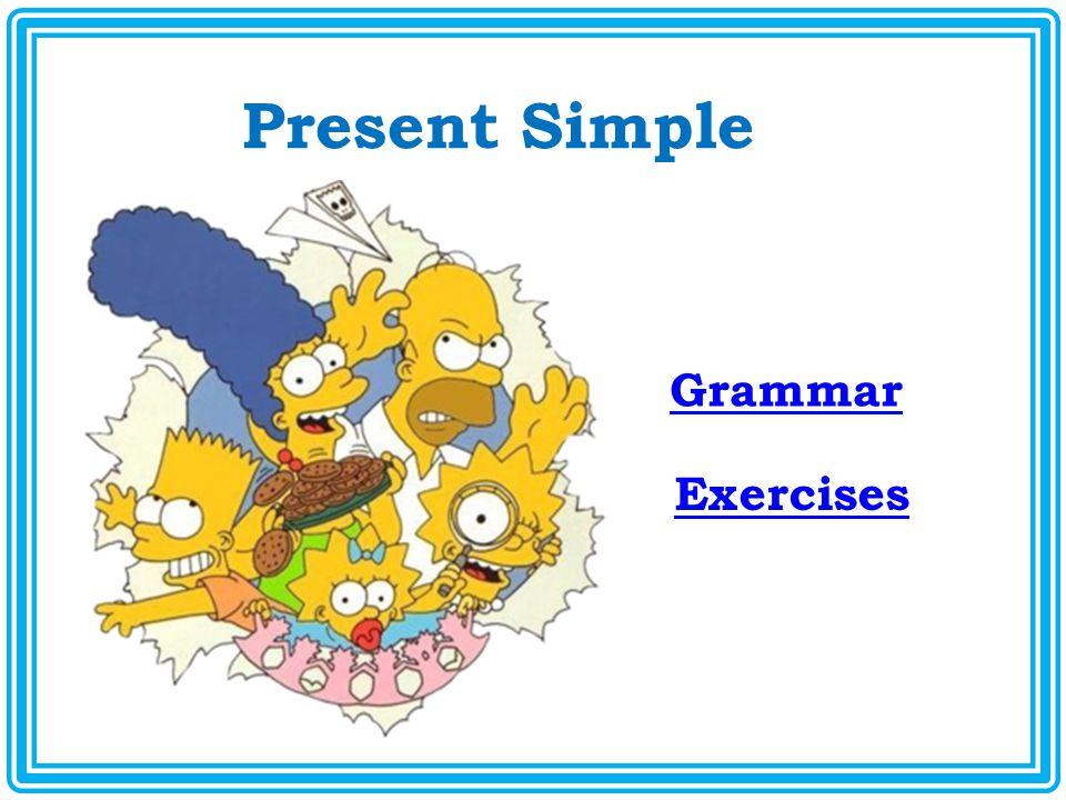 Present Simple Grammar Exercises