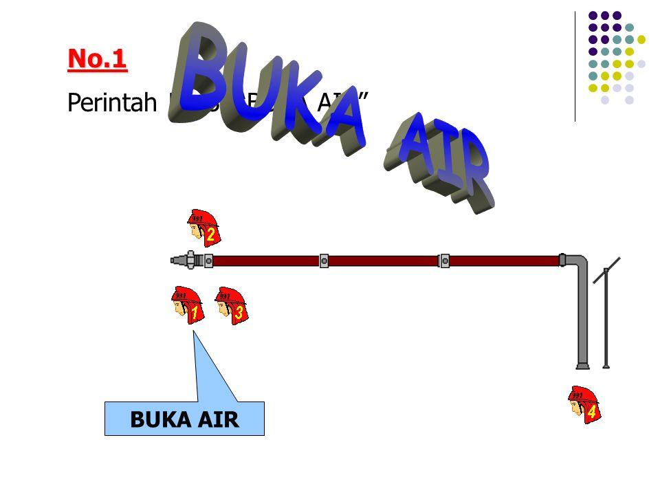 No.1 Perintah No.3, BUKA AIR BUKA AIR