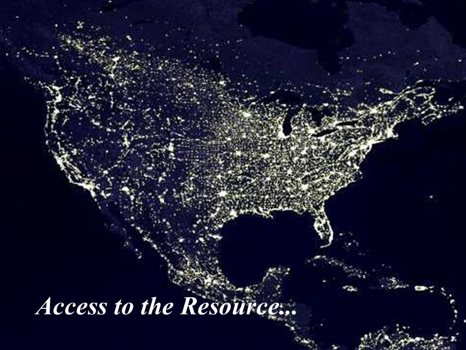 Access to the Resource...