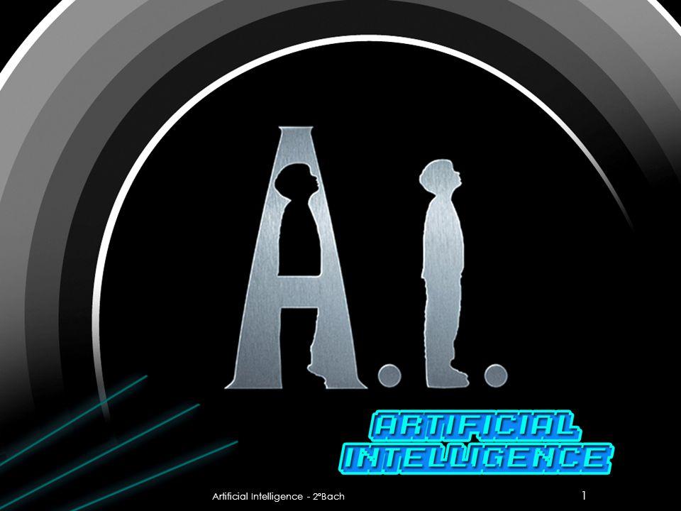 1 Artificial Intelligence - 2ºBach