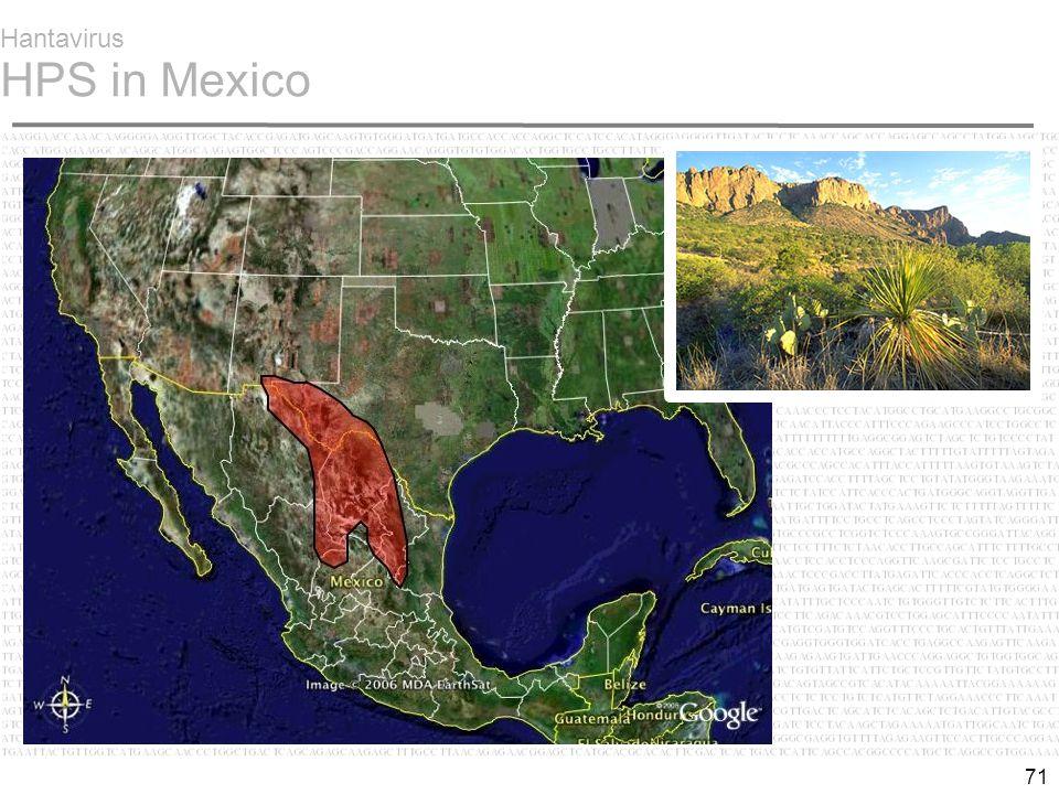 71 Hantavirus HPS in Mexico