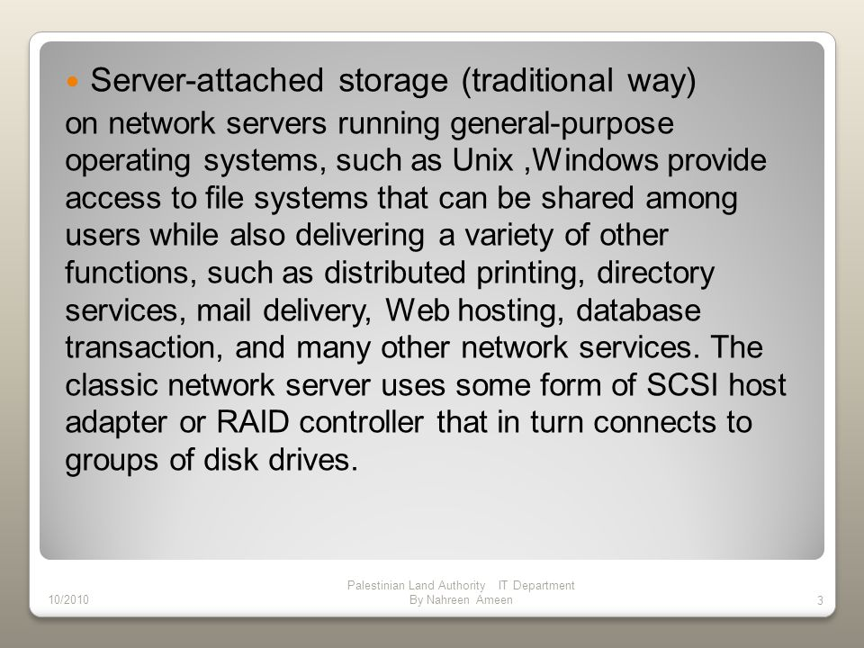 Technology Alternatives Storage over IP (SoIP), also known as iSCSI (Internet SCSI), is a technology that has emerged in the last year that relies on Ethernet and IP network protocols to create a storage network rather than Fiber Channel technologies on which current SANs are based.