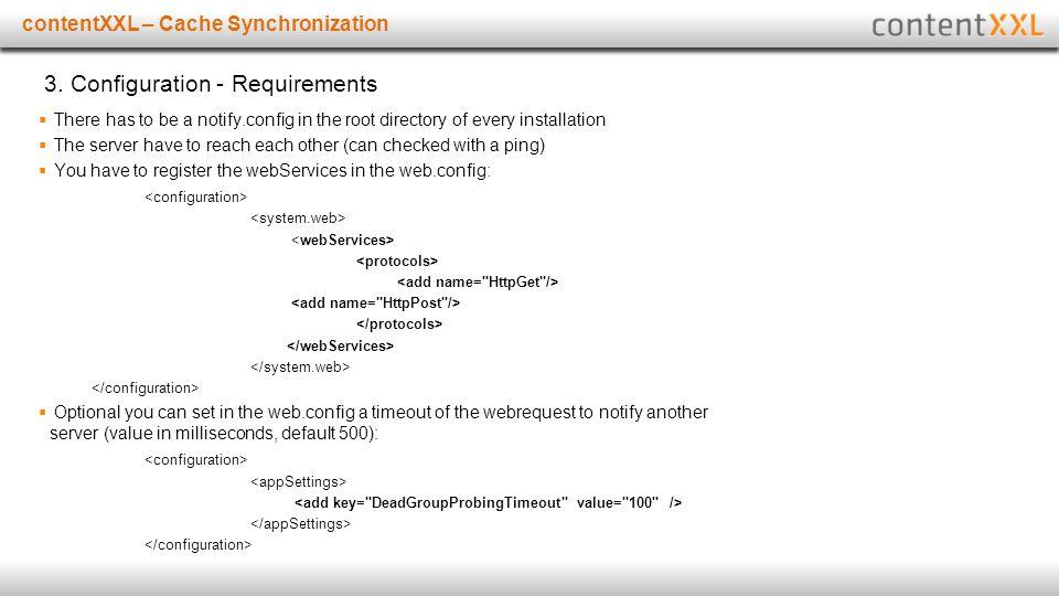 Titelmasterformat durch Klicken bearbeitencontentXXL – Cache Synchronization 3.