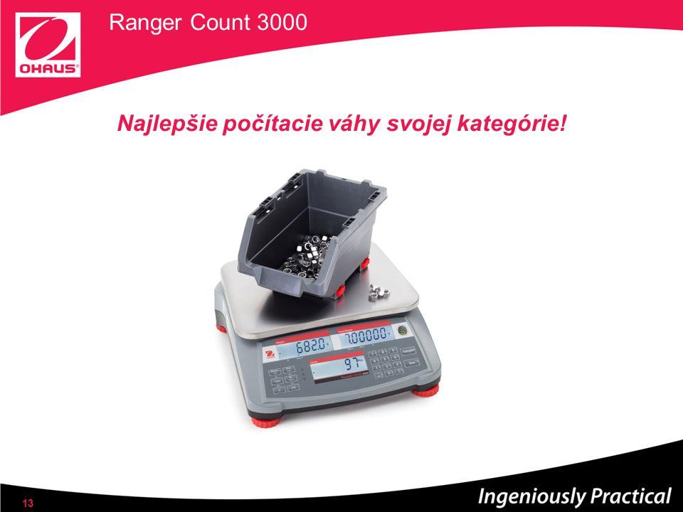 Ranger Count 3000 Najlepšie počítacie váhy svojej kategórie! 13