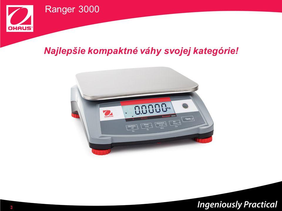 Ranger 3000 Najlepšie kompaktné váhy svojej kategórie! 3