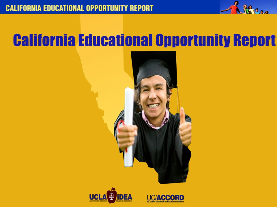 California Educational Opportunity Report