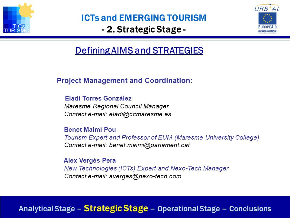 ICTs and EMERGING TOURISM - 2.