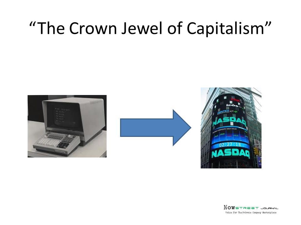 The Crown Jewel of Capitalism