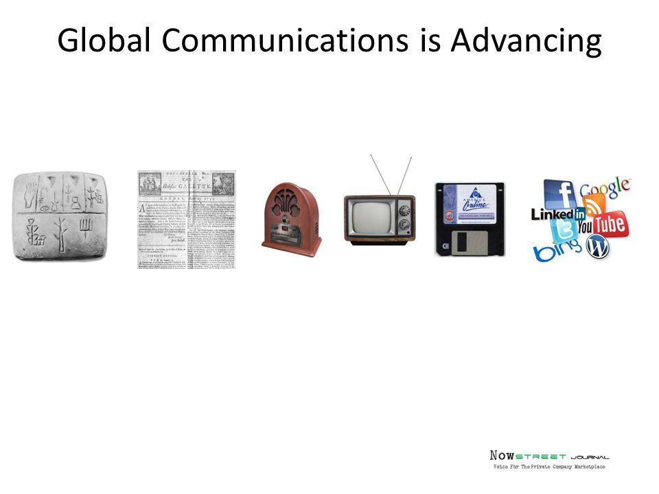 Global Communications is Advancing