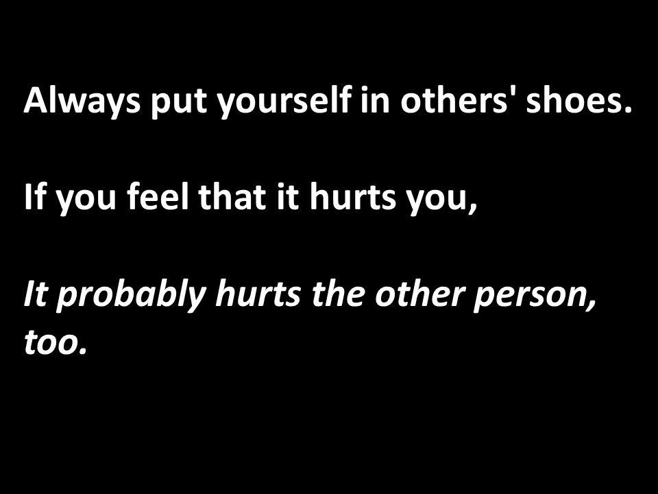 Enough sorrow to keep you human, And enough hope to make you happy.