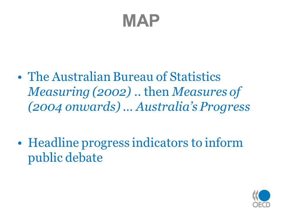 MAP The Australian Bureau of Statistics Measuring (2002)..
