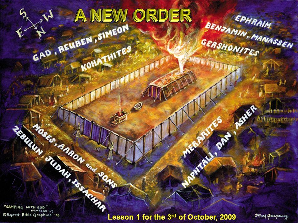 We have a solemn duty as a chosen people (present Levites).