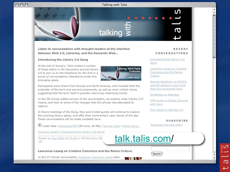 talk.talis.comtalk.talis.com/