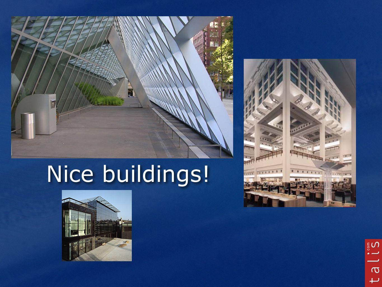 Nice buildings!