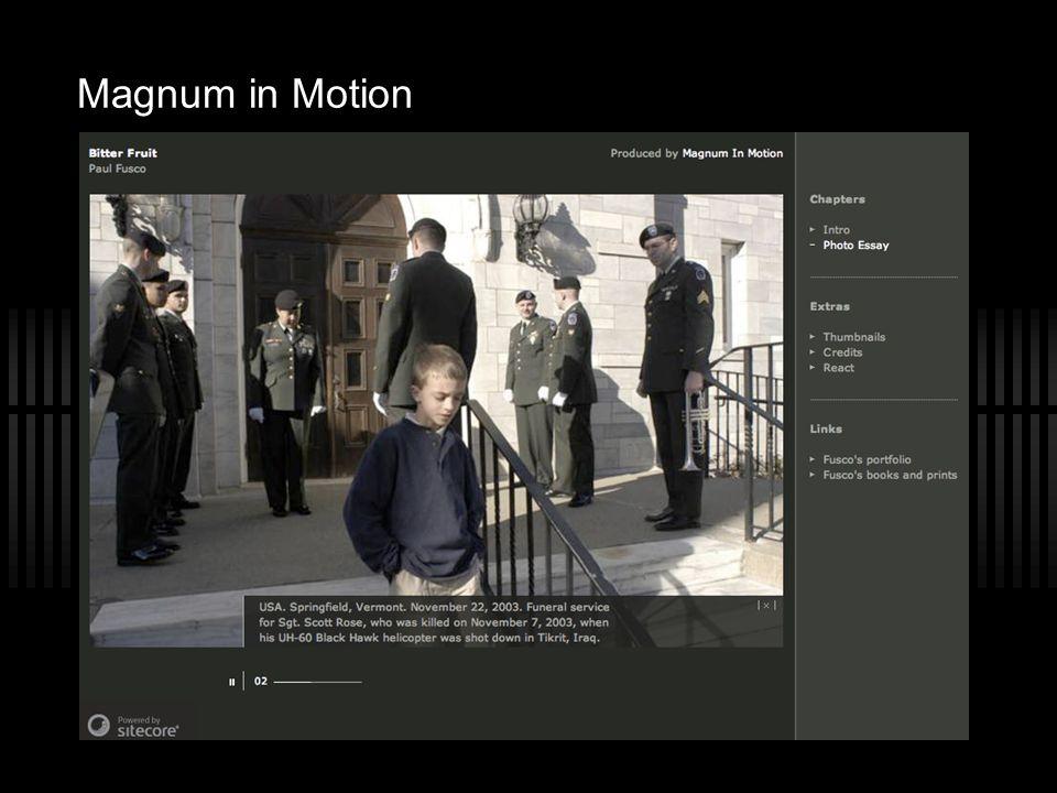 Magnum in Motion