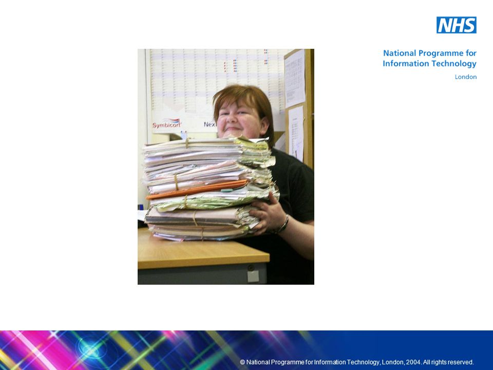 © National Programme for Information Technology, London, 2004.