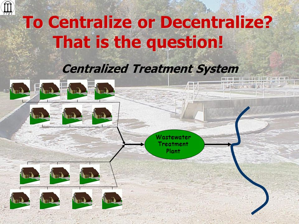 To Centralize or Decentralize. That is the question.