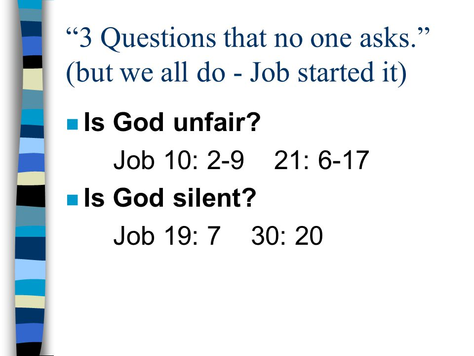 Isaiah 53: 4-6 I Peter 2: 21-25 What has changed about God? What has been healed?