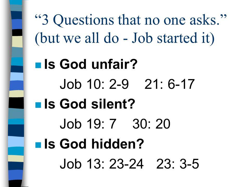 Is all my pain & suffering because of my sin? John 9: 1-3 Luke 13: 1-5 John 11