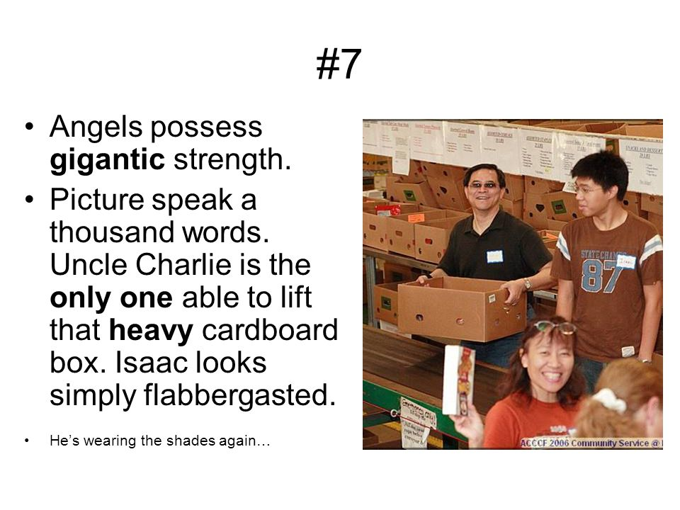 #6 Angels possess superior intelligence and surpassing holiness.