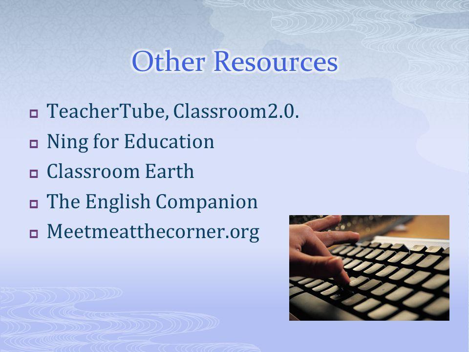  TeacherTube, Classroom2.0.