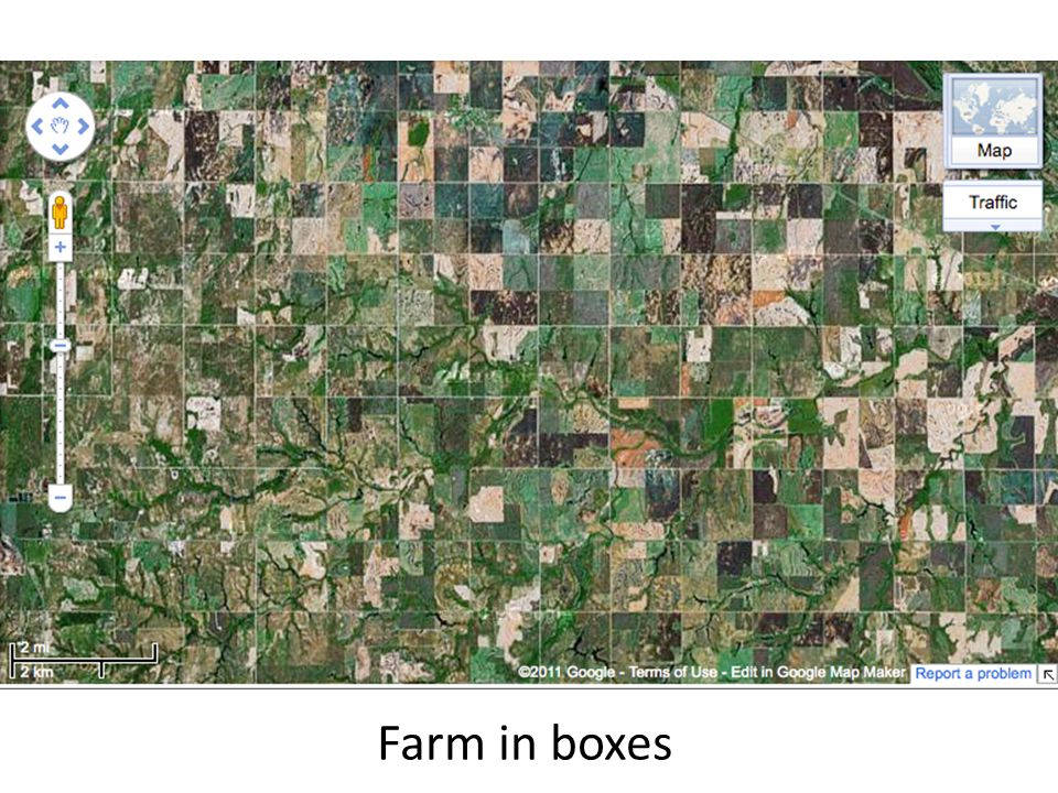 Farm in boxes